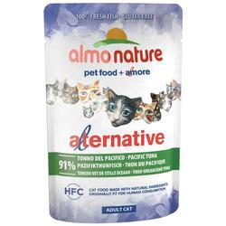 Almo Nature Alternative Паучи для кошек Тихоокеанский тунец 91% мяса. Alternative - Pacific Tuna