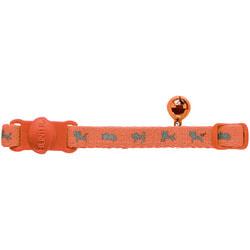 Hunter Smart ошейник для кошек Neon нейлон оранжевый