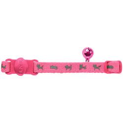Hunter Smart ошейник для кошек Neon нейлон розовый