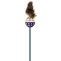Зооник Игрушка для кошек Дразнилка с мехом