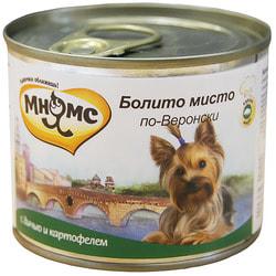 Мнямс Корм для собак Болито мисто по-Веронски дичь с картофелем