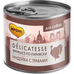 Мнямс Корм для собак Фрикасе по-Парижски индейка c грибами