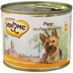Мнямс Корм для собак Рагу по-Ланкаширски куриное филе с травами