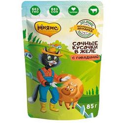 Мнямс Корм для кошек курица с томатами Каччиаторе по-Неаполитански