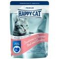 Happy Cat Пауч для кошек кусочки в соусе Говядина и Птица