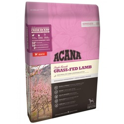 Acana Singles Grass-Fed Lamb сухой корм для собак с ягненком и яблоком