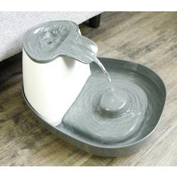SuperDesign Питьевой фонтанчик меламиновый, белый-антрацит