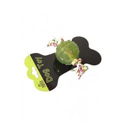 SuperDesign Игрушка для собак Мячик с канатиком силиконовый