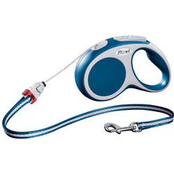 Поводок-рулетка flexi VARIO S, трос 5 метров, для собак до 12 кг