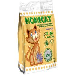 """Наполнитель Homecat """"Эколайн"""" Лаванда комкующийся для кошачьих туалетов"""