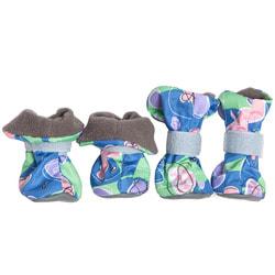 OSSO Ботиночки-носочки для мелких собак на флисе, подошва кожзам