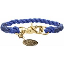 Hunter Ошейник для собак List, текстиль, темно-синий