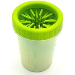 Smartpet Лапомойка для собак переносная стакан-непроливайка с силиконовой щеткой