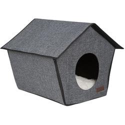 Lion Домик Монако серый каркасный для собак и кошек