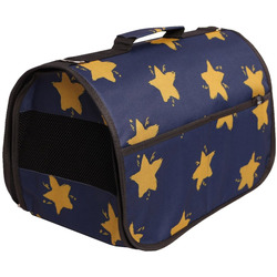 Lion Сумка переноска LUX Синяя со звездами
