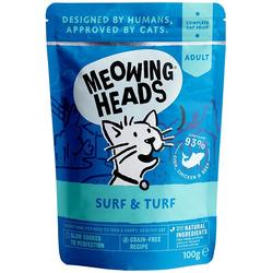 """Barking Heads Паучи для кошек и котят с сардинами, тунцом, курицей и говядиной """"Все лучшее сразу"""""""