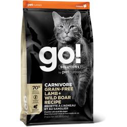 Сухой корм Go! Natural Holistic беззерновой для Котят и Кошек с Ягненком и мясом Дикого Кабана (GO! CARNIVORE GF Lamb + Wild Boar Recipe CF 42/15)
