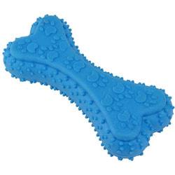 DOGMAN Игрушка для собак Косточка с лапками литая, TPR