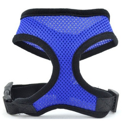 Smartpet Шлейка-жилетка для собаки нейлоновая синяя