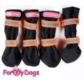 ForMyDogs Ботиночки-сапожки для собак из непромокаемого нейлона высокие