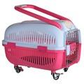 Kredo Переноска на колесах для животных с ручкой и замком