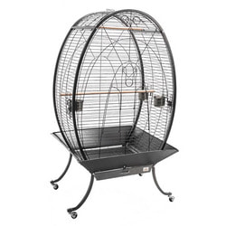 Kredo Клетка для птиц овальная на колесах