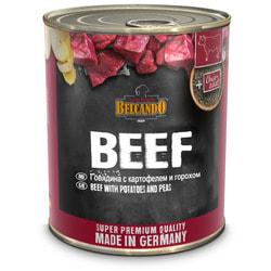 Belcando Консервированный корм для собак Говядина с картофелем и горохом