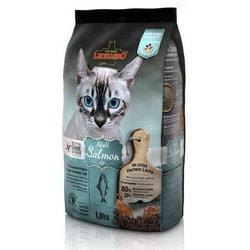 Leonardo Adult Salmon GF беззерновой корм для кошек с чувствительным пищеварением с Лососем