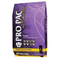 Pro Pac Ultimates Сухой корм для щенков и кормящих сук курица с коричневым рисом