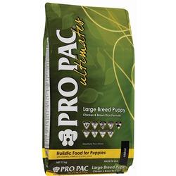 Pro Pac Ultimates Сухой корм для щенков крупных пород курица с коричневым рисом