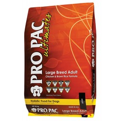 Pro Pac Ultimates LARGE BREED ADULT with Chicken Meal & Brown Rice Сухой корм
