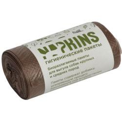Napkins БИОпакеты гигиенические для выгула собак средних и крупных пород, коричневые
