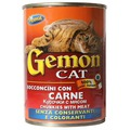 Gemon Консервы для кошек кусочки в соусе с мясом