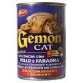 Gemon Консервы для кошек кусочки в соусе с курицей и цесаркой