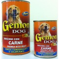 Gemon Консервы для для собак кусочки в соусе с мясом