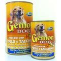 Gemon Консервы для для собак кусочки в соусе с курицей и индейкой