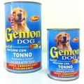 Gemon Консервы для для собак кусочки в соусе с тунцом
