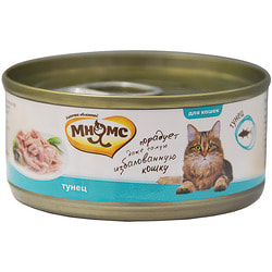 Мнямс Консервы для кошек Тунец в нежном желе