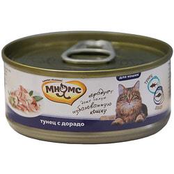 Мнямс Консервы для кошек Тунец с дорадо в нежном желе
