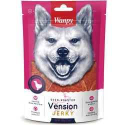 Wanpy Dog лакомство стейки из оленины