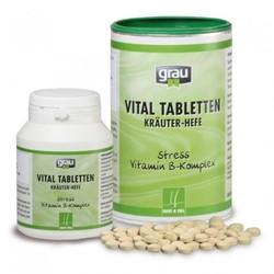Grau Пищевая добавка Krauter-Hefe Витамины группы В для собак и кошек в таблетках