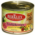 Berkley Консервы для котят телятина с лесными ягодами №6