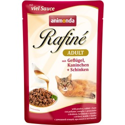 Animonda Rafine Soupe Adult Пауч для кошек коктейль из мяса птицы, кролика и ветчины